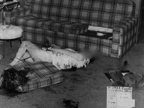 Image result for keddie murders cabin sue sharp body blanket