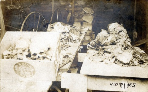 VICTIMS REMAINS